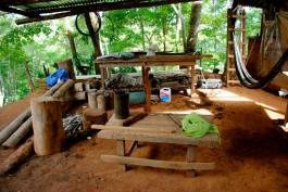 Travel with Sherry as she explores Costa Rica! #travel #costarica #Boruca #local #tribal #rainsforest