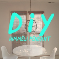 DIY: Himmeli Pendant Light