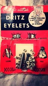 Vintage rivet set.