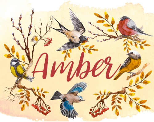 Free Printable name cards for Thanksgiving