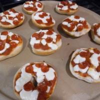 Mini Pizza Bagel Bites