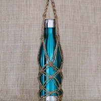 DIY Macrame bottle Sling