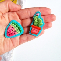 DIY Hand Embroidered Patches!