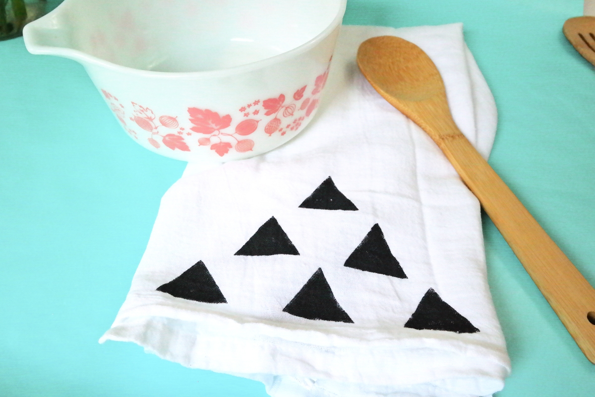 DIY Tea Towel