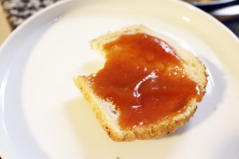 peachbutterwith toast
