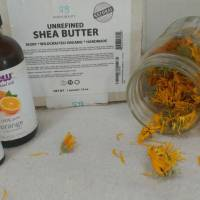 DIY Calendula Lotion Bars