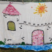 Q-Kids: Fabric Fort DIY