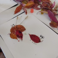 Q-Kids: Leaf Art